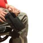 Comp-Tac wheelchair holster right profile