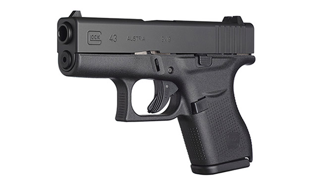 arby's employee glock 43 9mm