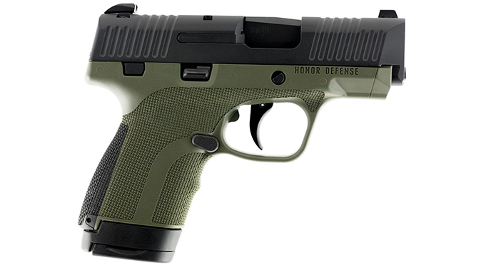 Honor Defense Honor Guard pistol od green