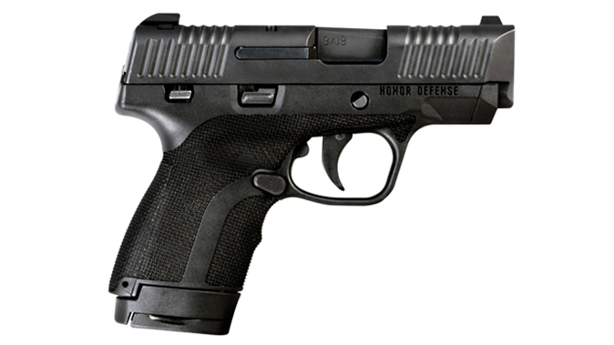 Honor Defense Honor Guard pistol black