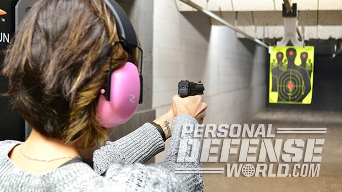 Kel-Tec PMR-30 pistol range test