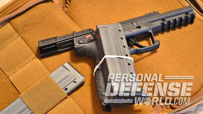 Kel-Tec PMR-30 pistol transport
