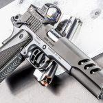Kimber Super Jägare pistol left angle