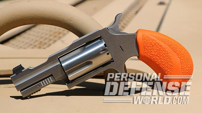 North American Arms Bug Out Box revolver left profile