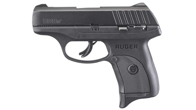Ruger EC9s pistol left profile