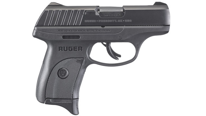 Ruger EC9s pistol right profile