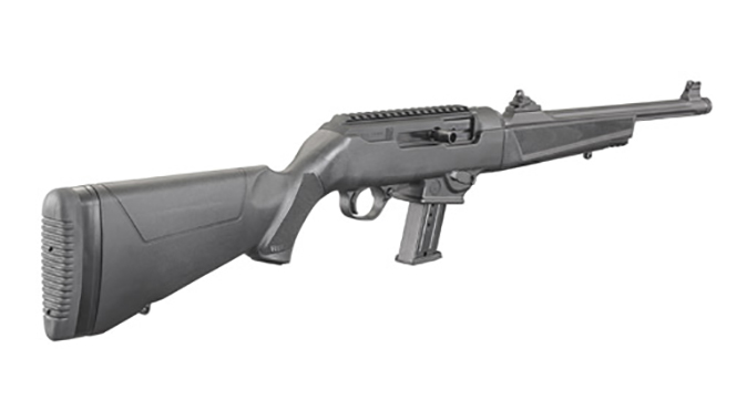 Ruger PC Carbine rear angle