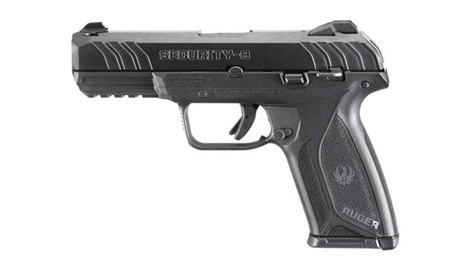 Ruger Security-9 pistol left profile