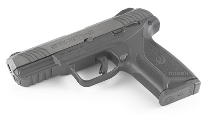 Ruger Security-9 pistol side left angle
