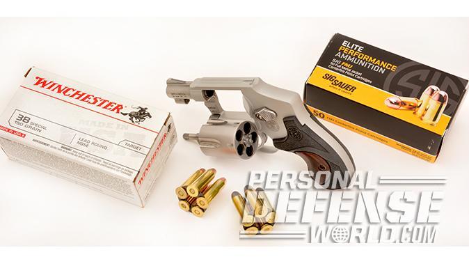 S&W Model 642 Performance Center revolver ammo