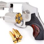 S&W Model 642 Performance Center revolver cylinder