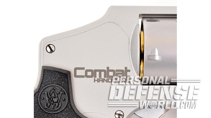S&W Model 642 Performance Center revolver engraving
