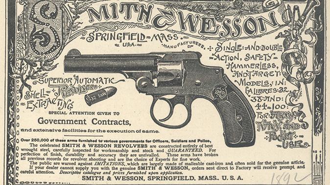 S&W Model 642 Performance Center revolver DAO revolver ad