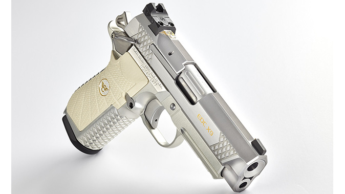 Wilson Combat 40th Anniversary EDC X9 right angle