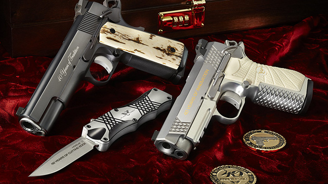 Wilson Combat 40th Anniversary Box Set left angle