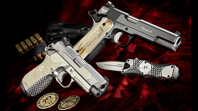 Wilson Combat 40th Anniversary Box Set right angle