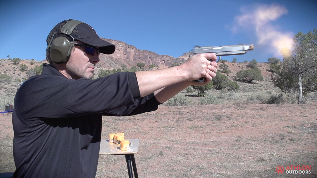 Coonan .357 Magnum Compensated 1911 pistols Athlon Outdoors Rendezvous