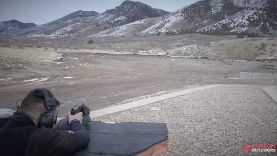 Canik TP9 SFL Pistol Athlon Outdoors Rendezvous 250 meters