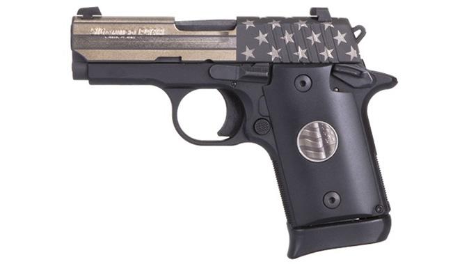 sig sauer P938 STAND pistol left profile