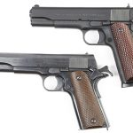 american tactical fx military 1911 colt 1911 pistol left profile