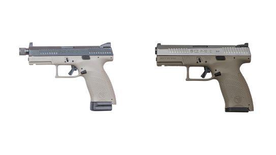 cz p-10 c pistols