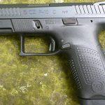 CZ P-10 C pistol left profile