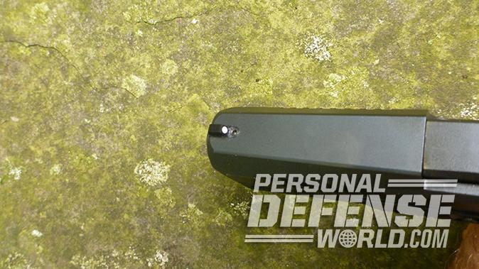 CZ P-10 C pistol front sight