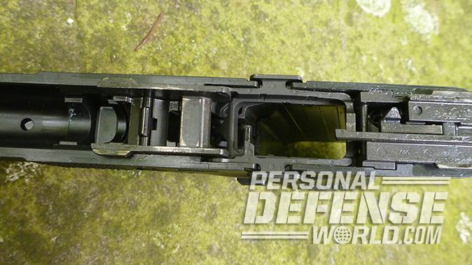 CZ P-10 C pistol slide