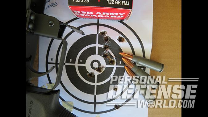 Century Arms RAS47 ak pistol target