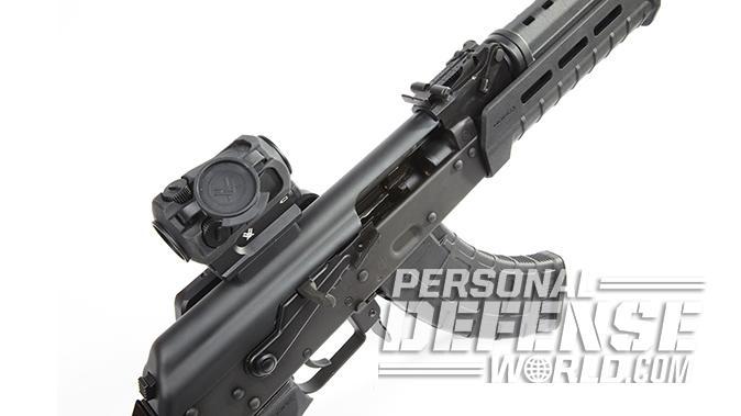 Century Arms RAS47 ak pistol rail