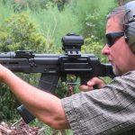 Century Arms RAS47 ak pistol shooting