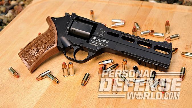 Chiappa Rhino 60DS revolver testing