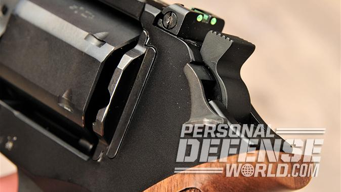 9mm revolver hammer, hammer locked