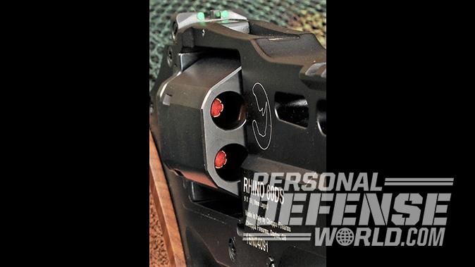 Chiappa Rhino 60DS revolver six-shot cylinder