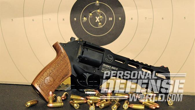 Chiappa Rhino 60DS revolver ammo