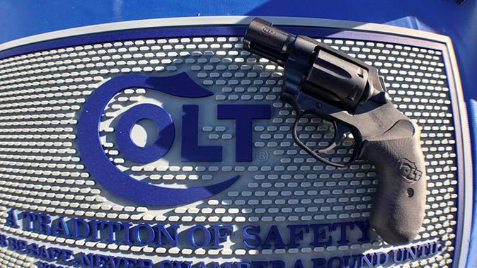 Colt Night Cobra revolver left profile