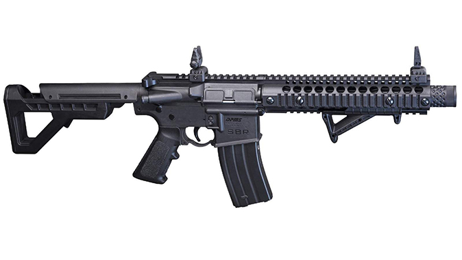 Crosman DPMS SBR rifle right profile