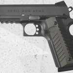 Devil Dog Arms DDA 1911 black pistol left profile