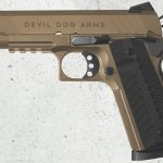 Devil Dog Arms DDA 1911 FDE pistol left profile