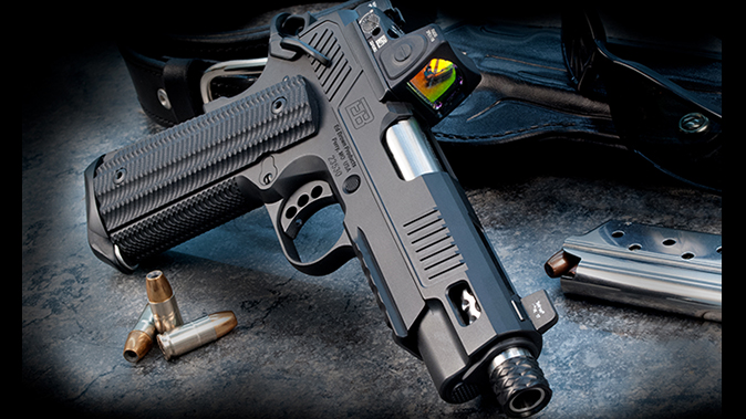 ed brown zev 1911 pistol right angle