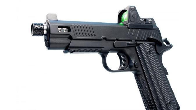 ed brown zev 1911 pistol left profile