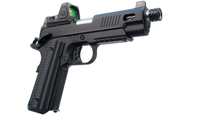ed brown zev 1911 pistol right profile