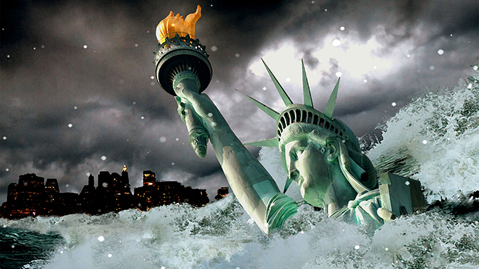 natural disasters statue of liberty