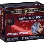 federal hydra-shok deep cartridge box