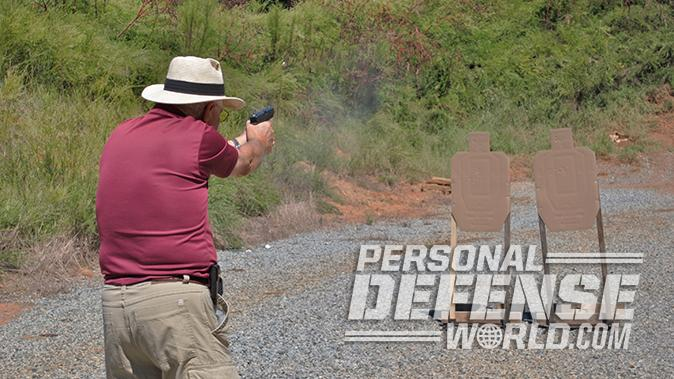 Glock 20 Gen4 10mm pistol test
