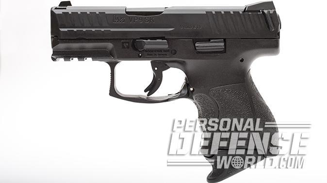 sig sauer p320 subcompact hk vp9sk pistol left profile