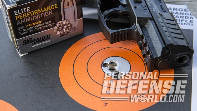sig sauer p320 subcompact hk vp9sk pistol target