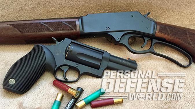 Henry Lever Action Shotgun Taurus Judge Revolver