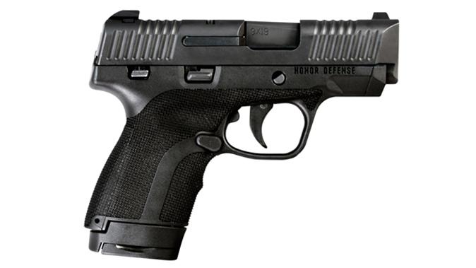 Honor Defense Honor Guard pistol black right profile