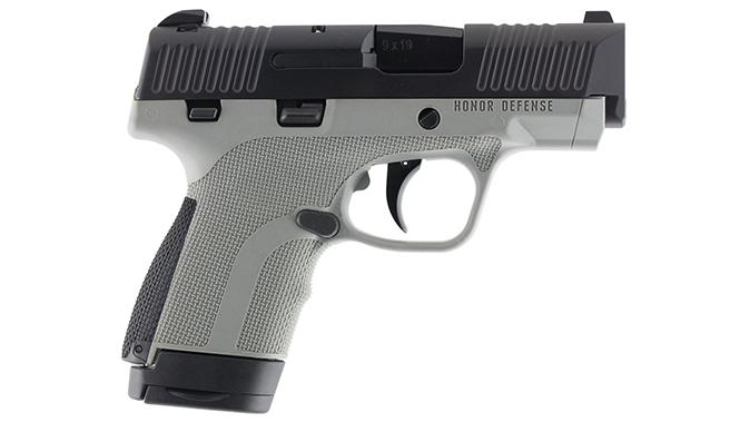Honor Defense Honor Guard pistol gray right profile